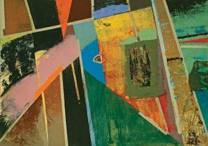 Richard Olsen, Wall CCXXIX, 2015, oil